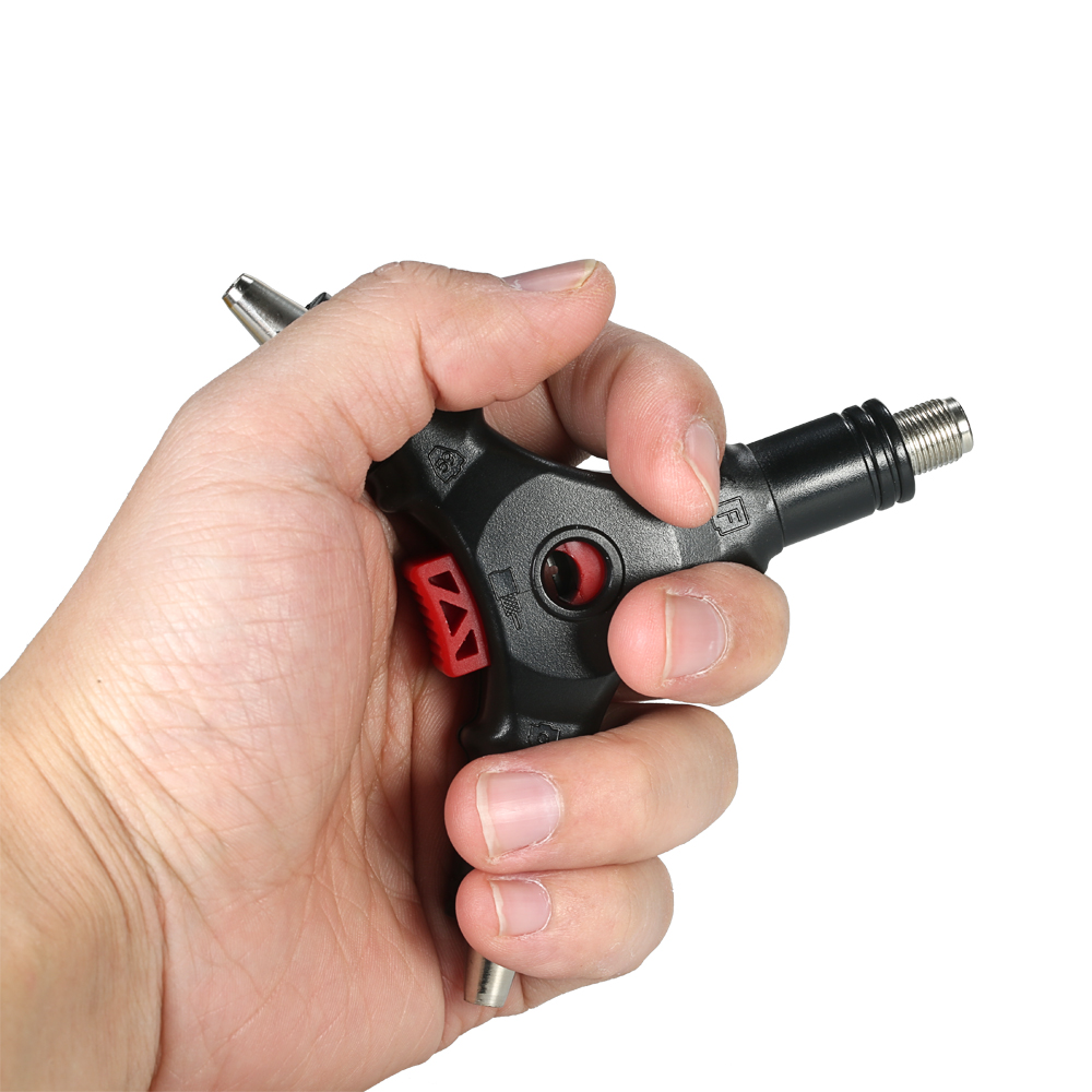 A Professional Handheld Coaxial Cable Wire Stripper F Connector Installation Tool for RG6 RG59