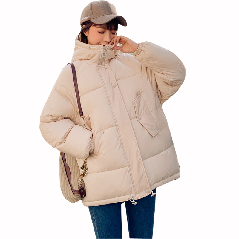 Winter Jacket women Womens Parkas Thicken Outerwear solid hooded Short Female Cotton parka coat women womens jackets and coats