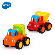 1PC HUILE TOYS 326C Baby Toys Vehicle Mini Dump Trucks Vehicles Model Car For Kid Classic Boys Toy Xmas Gifts