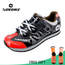 Sidebike Non Lock MTB Road Cycling Shoes Ultralight Leisure Bike Shoes Men Breathable Non Slip Bicycle Shoes sapatilha ciclismo(China)