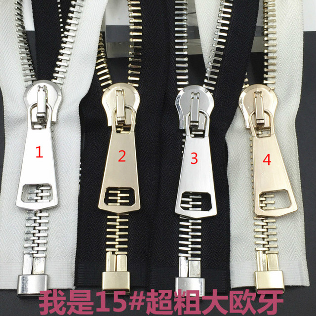 2b90f1257458e 15Kupfer Zip Messing Für Taschen Reißverschlüsse Diy Metall Nähen rWCBoedx