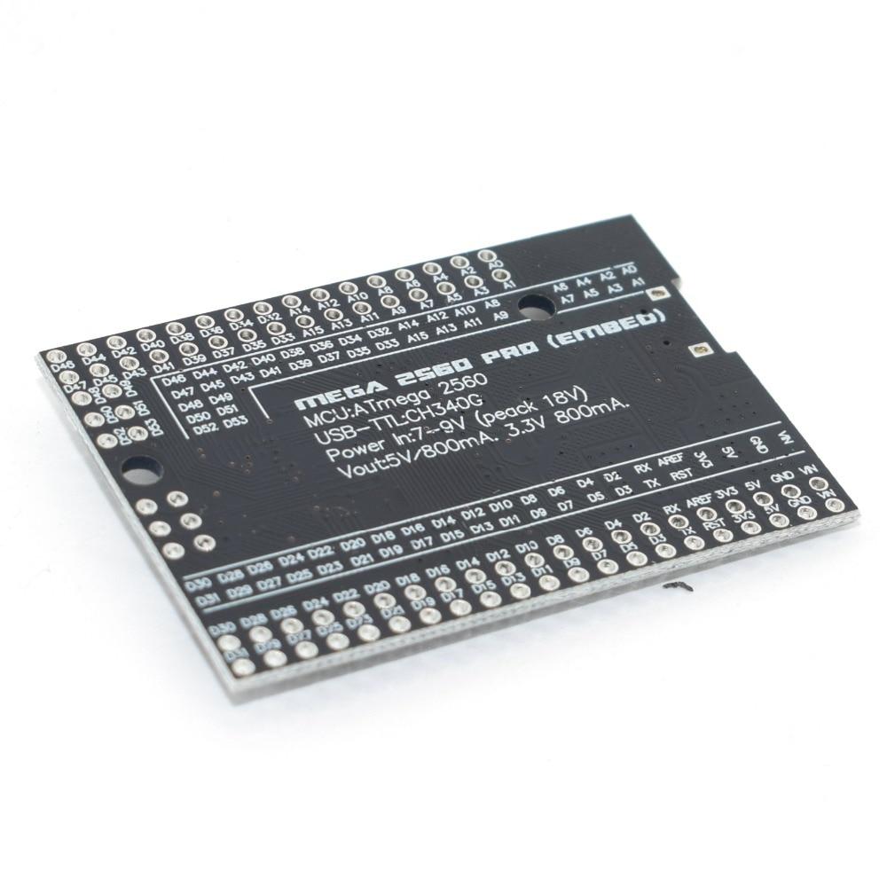 MEGA 2560 PRO Embed CH340G/ATMEGA2560-16AU Chip z męskimi pinheads kompatybilny dla arduino Mega2560 DIY 6