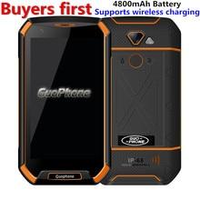 Original GUOPHONE V16 Waterproof Smartphone 5.0″ MTK6737 Quad Core RAM 1GB ROM 16GB Fingerprint 4800Ah 4G LTE 8.0MP Mobile Phone