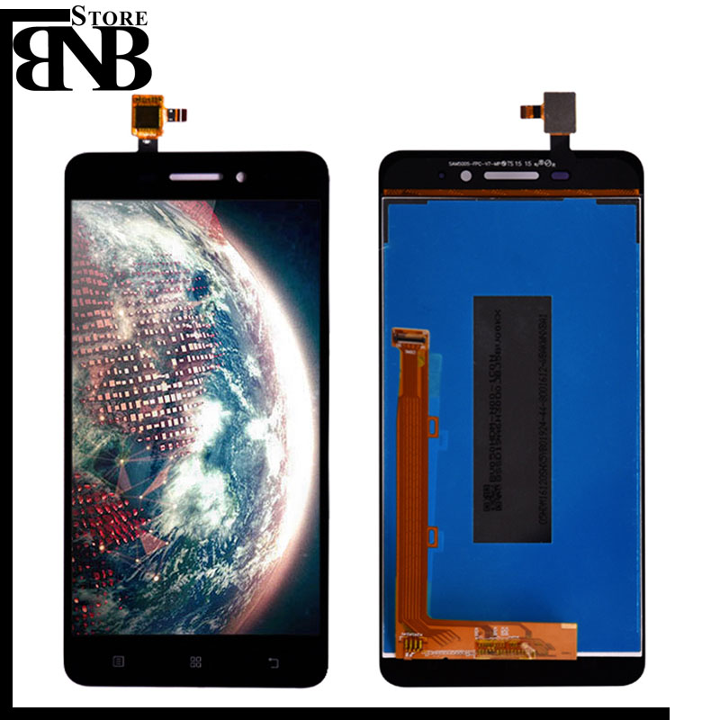 For Lenovo S60 LCD Display and Touch Screen Digitizer Panel Assembly replacement part S60W S60T S60A lcd screen with frame image