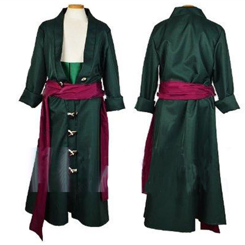 One Piece Roronoa Zoro Cosplay Costume Clothes full set