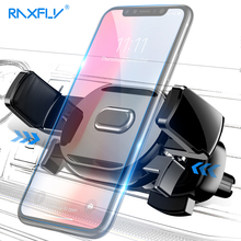 RAXFLY Air Vent Car Holder For Phone in Car Phone Holder For iPhone X Nokia 7 8 Plus 360 Rotation Stand Support For Oneplus 6 5T