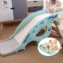 Happymaty Infant Slides for Kids Rocking Horse 4 in 1 Baby Toys Childrens Ride Toy Multifunction Birthday Gift