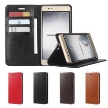 Люкс бумажник чехол для Huawei Ascend P9 Plus premium Кожаный чехол Huawei P9 плюс откидная крышка телефон Сумки