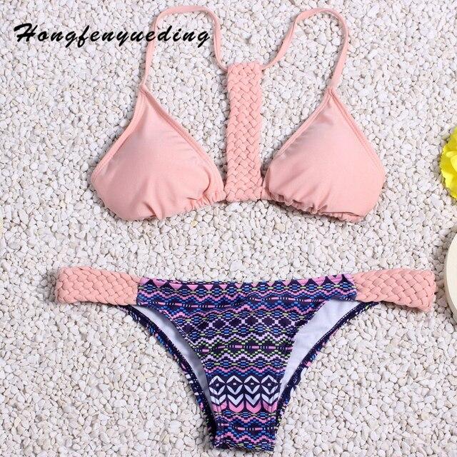 Hongfenyueding Bikini Costume Da Bagno Brasiliano Bikini All