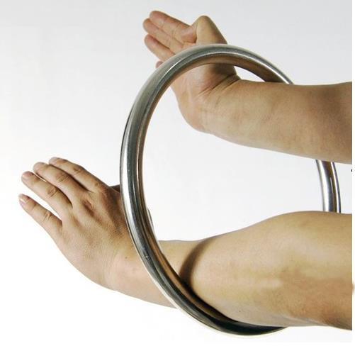 Haute qualité Wing chun hoop main exercice de musculation anneau kung fu/arts martiaux rotin anneau dans Arts martiaux de Sports et loisirs