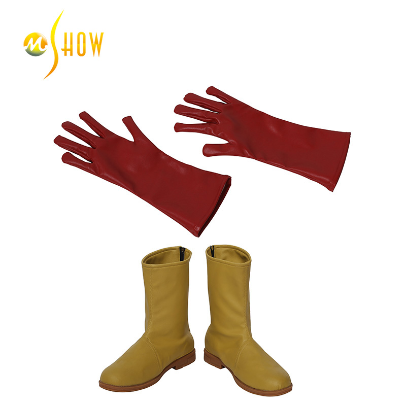 Newest Arrival Hot Sale Young Justice Kid Flash Cosplay Costume Halloween Costume Jumpsuits for Men