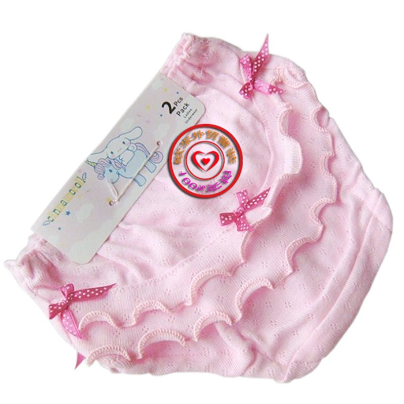 1 Stks Retail Zoete Boog Kant Shorts Baby Girl Ondergoed Katoen Kwaliteit Calcinhas Meisjes Ondergoed Kids Slipje We Nemen Klanten Als Onze Goden