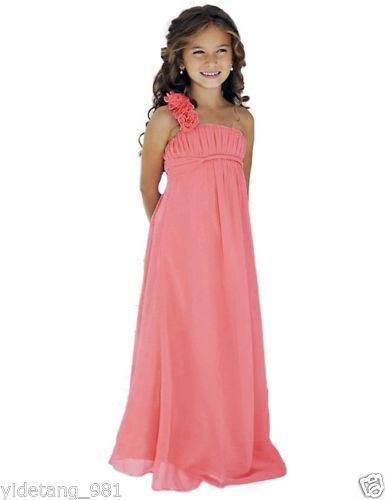 New Lace Tulle Toddler Flower Girl Dress Party Pageant Dress With Sash hot Party Dress