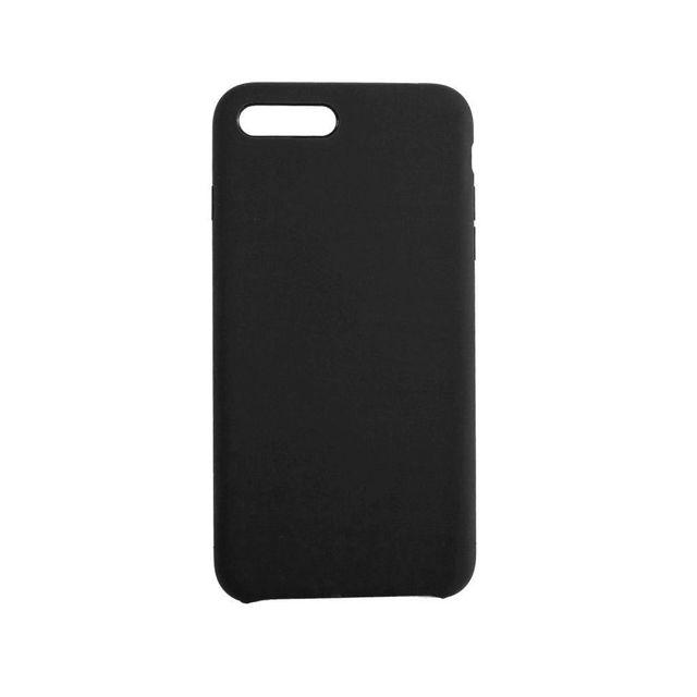 Чехол-накладка Mediagadget MARSHMALLOW COVER для iphone 7/8 Plus (черный)