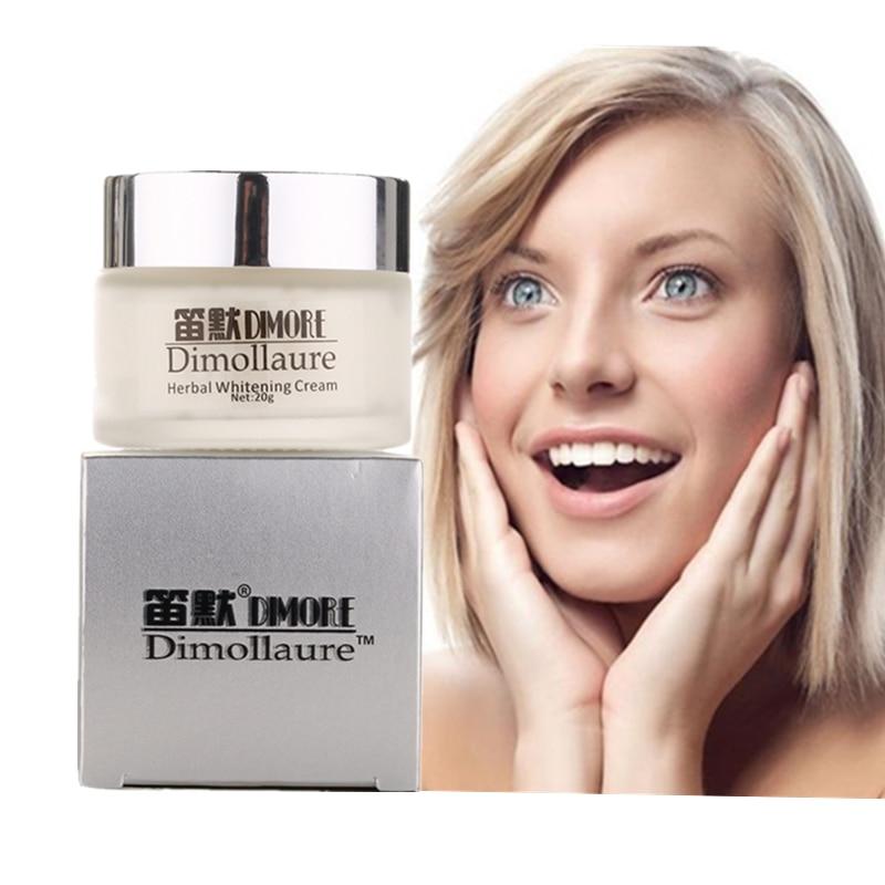 Dimollaure face Whitening krém 20g Removing melasma scars pigment Melanin silný obličej bělící pihový krém dimore cream