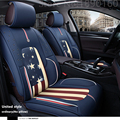 2016 Novo! Couro Especial Tampa de Assento Do Carro para Tesla Tesla Todos Os Modelos S X acessórios do carro etiqueta do carro