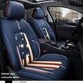 2016 Nuevo! Cubierta de Asiento de Coche de Cuero Especial para Tesla Tesla Todos Los Modelos S X pegatina accesorios del coche
