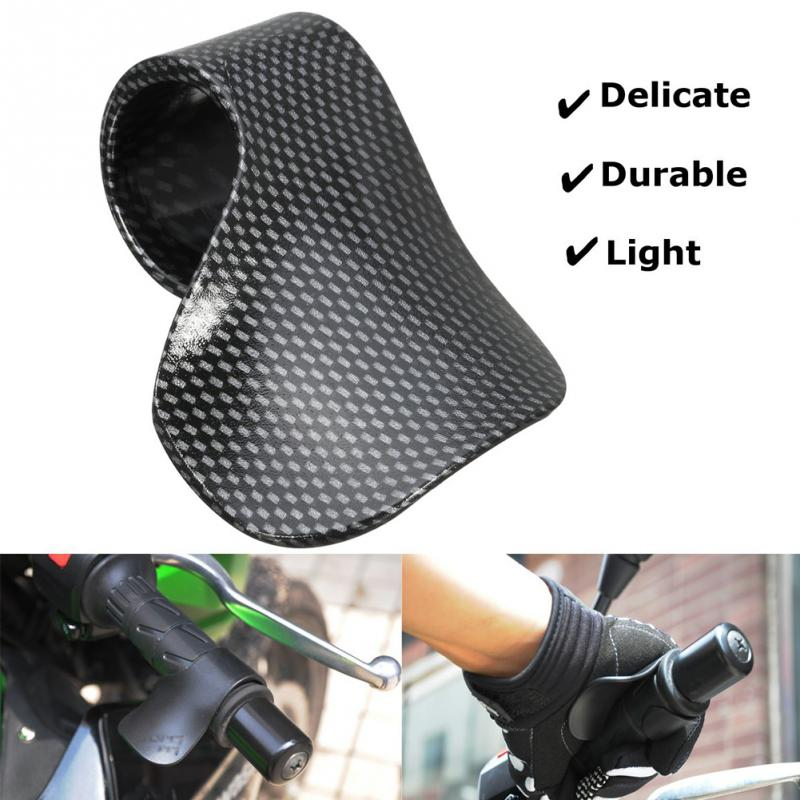 Carbon Motorcycle Throttle Rest Cruise Aid Control Grips Cramp Buster Rocker Throttle Cruise Control For Motorcycle Handle