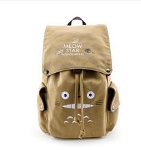 2018 new anime Perimeter of animation  TOTORO ATTACK ON TITAN fate stay night sword art online student backpack for teenagers