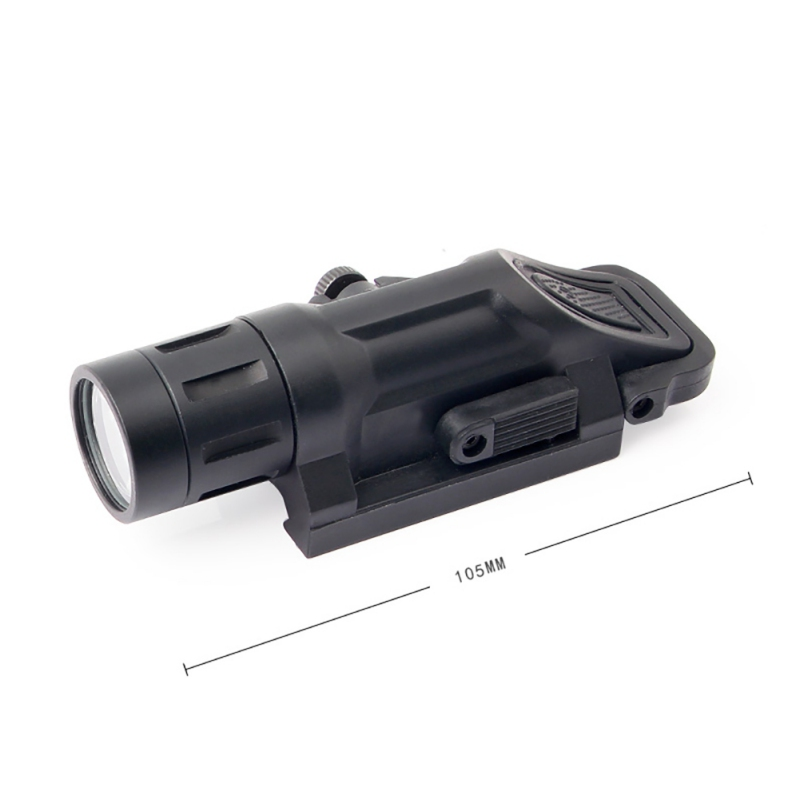 New Tactical WML Light Waterproof Rifle Flashlight Fit 20mm Weaver Picatinny Rail mount Hunting shooting Flashing Black