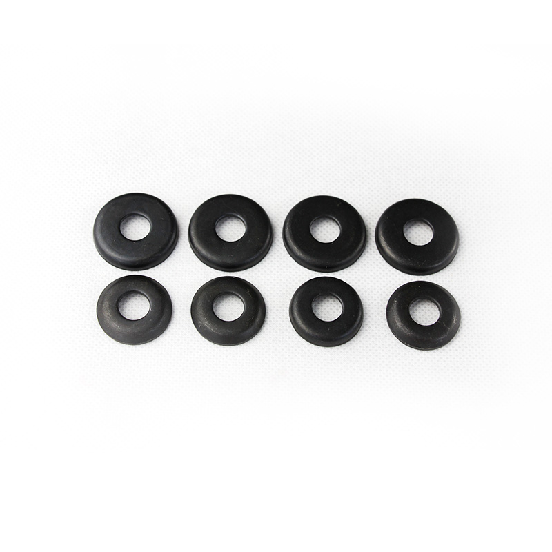 Free Shipping 1pair Black Conica Skateboard Gasket Skateboard Truck 24mm 27mm 1.2mm Conica Grips