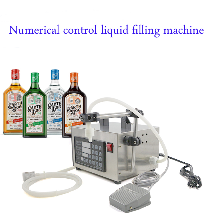 Small Portable Electric Liquid Water Filling Machine