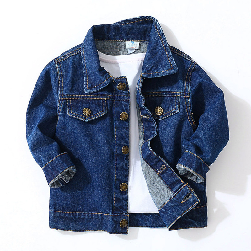 New 2019 Spring Baby Boys Girl Jeans Coats Clothes Kids Denim Jackets Coats Kids Tops Jeans Wear Denim Children OuterwearNew 2019 Spring Baby Boys Girl Jeans Coats Clothes Kids Denim Jackets Coats Kids Tops Jeans Wear Denim Children Outerwear
