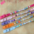 Personalised- Any Name Pacifier Clips Dummy Pacifier Chain Clip Holder Baby Nipple Feeding Supplies Kid Funny Garment Clip