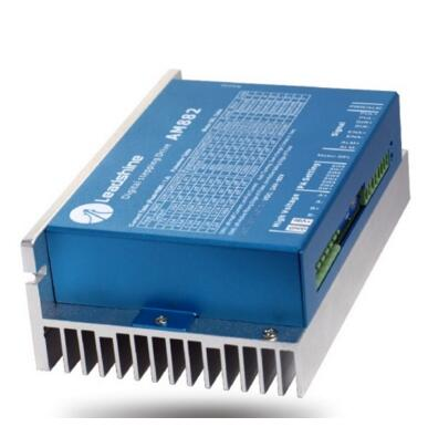 Leadshine 2 phase High precision stepper drive AM882 fit NEMA 23-34 mode motor work 36-80VDC out 1.0A-8.2A leadshine am882 stepper drive stepping motor driver 80v 8 2a with sensorless detection
