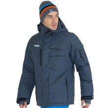 font b RUNNING b font RIVER Brand Waterproof Jacket For Men Ski Suit Set Men