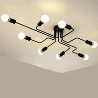 Pendant lights 90 260V Light Fixture LED E27 Pendant Lamp Lamparas De Techo Morden Decor Lighting For Living Room Dining Kitchen