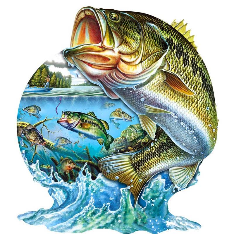 Full Diamond Embroidery Animal Diy Diamond Painting Fish