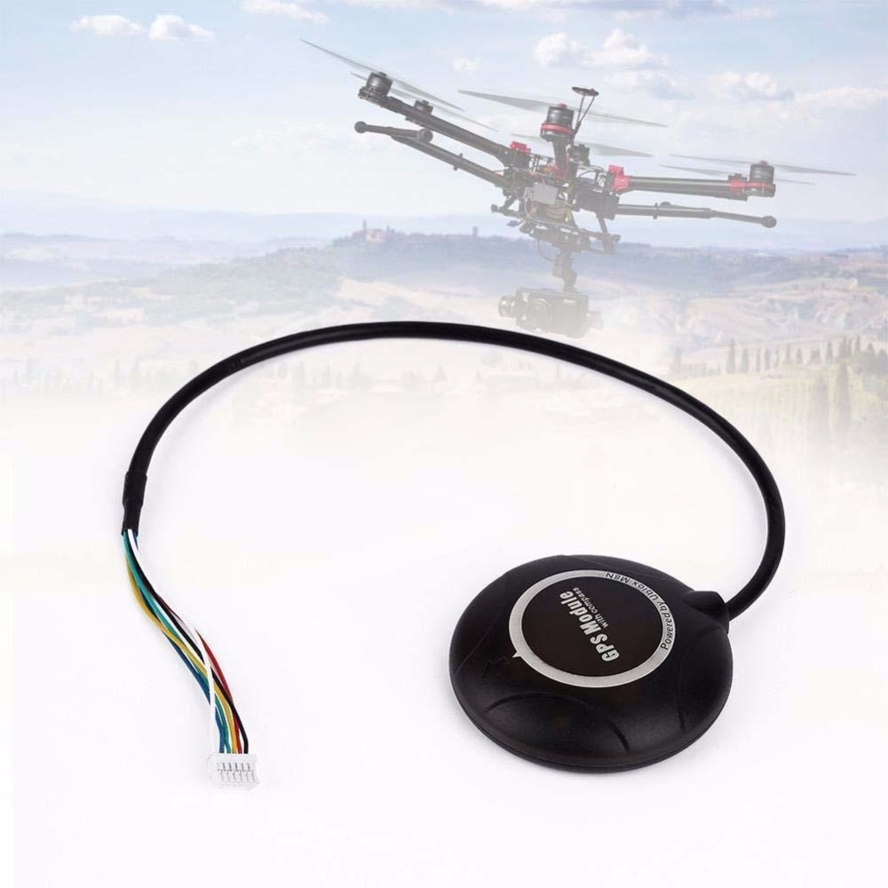 Ublox NEO-6M High Precision GPS Module Built-in Compass for APM Flight RC FPV apm2 6 flight control board apm shock absorber neo 7m gps w compass power module