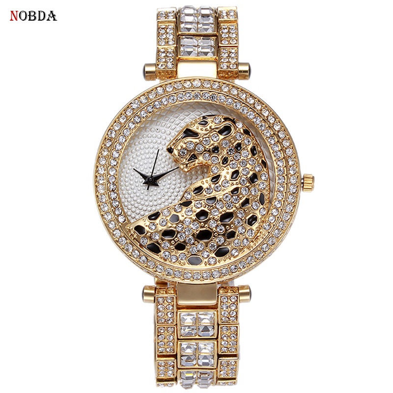 2017 New Luxury Crystal Diamond Watches Women Casual Gold Watch Steel Strip Rose Gold Clock Sparkling