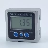 Mini Digital Protractor 360 Degrees 3 Magnet Base Digital Inclinometer Electronic Protractor Digital Bevel Box Angle