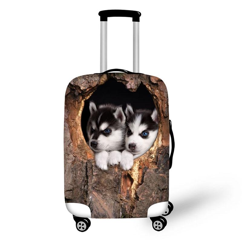 Trädgrotta Katt- och hundtryck Rese Vattentäta Väskor - Resetillbehör - Foto 4