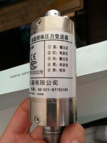 High Temperature Melt Pressure Sensor PT124B-121- 50MPa -M14 152/460 Output 0-10V