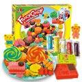 Nuevo caramelo del juguete entre padres e hijos juguetes interactivos inteligente juego de moldes de plastilina plastilina arcilla traje diy 3d juguetes