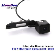 Liandlee For Volkswagen VW Passat 2001~2008 Car Reverse Camera Rear View Backup Parking Camera / Integrated High Quality liandlee car rear reverse camera for mitsubishi challenger 2008 2015 backup parking rear view camera integrated high quality