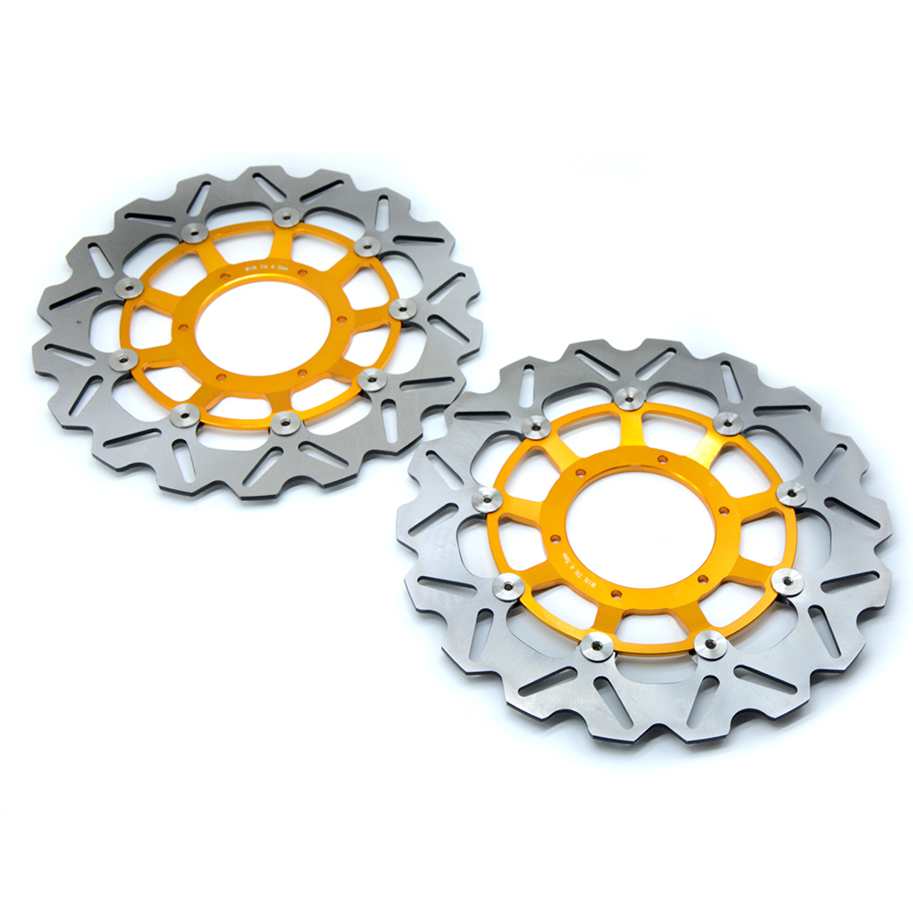 motorcycle parts Front Brake Disc Rotor For Honda CBR600RR 2003 2004 2005 2006 2007 2008 2009 2010 2011 2012 2013 2014 new brand m front brake disc rotors motorcycle for honda cbr600rr 2003 2004 2005 2006 2007 2008 2009 2010 2011 2012 2013 2014