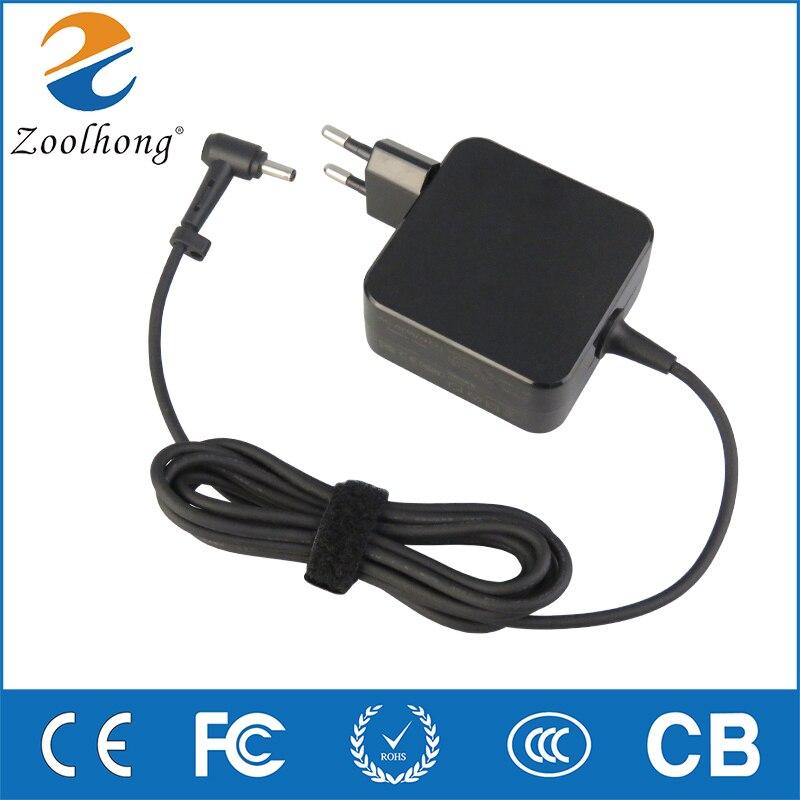ASUS 19 V 2.37A 4,0*1,35mm ordenador portátil AC adaptador de corriente cargador de viaje para Asus Zenbook UX305 UX21A UX32A serie Taichi 21 ADP-45AW un