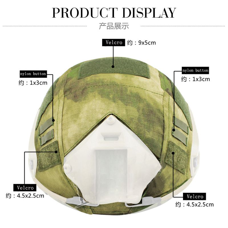 Военный шлем крышка Быстрый Шлем Мультикам Тифон камуфляж Emerson для пейнтбола Wargame армейский страйкбол тактический