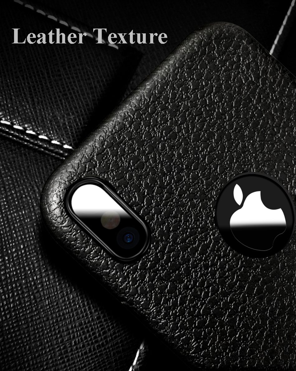 KISSCASE Ultra Thin Phone Case For iPhone 11 Pro Max 6S 6 7 8 Plus XS Max Cover Leather Skin Soft TPU Case For iPhone XR X Shell