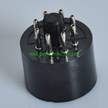 4pcs Vintage Bakelite 8Pin Vacuum Tube Socket Base For KT88 EL34 5881 5U4G AMP   For Guitar Amplifier Parts