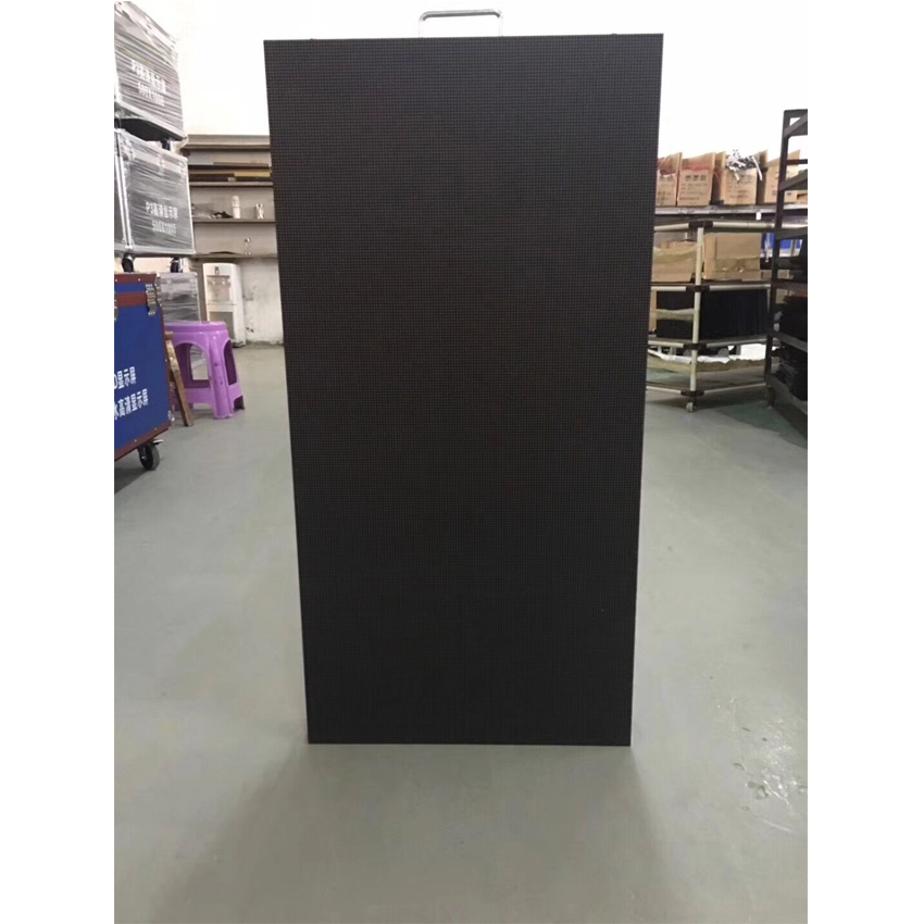 500x1000mm 104*208dots Die Cast Aluminum Cabinet P4.81 For Outdoor Rgb Led Display Screen Advertising Video Wall Panel Rental