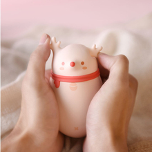 Hand warmer, mini portable large capacity usb with fast charge mobile power, cartoon rechargeable warm baby