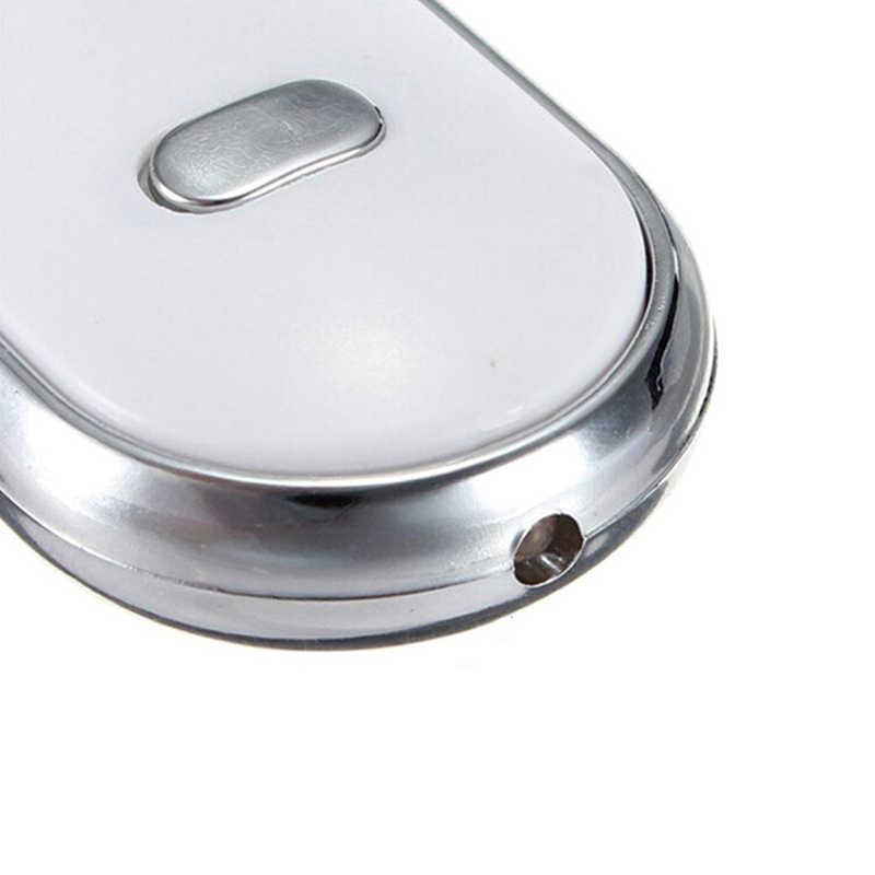 Alarme Anti-Lost Key Finder Localizador Keychain Som de Apito Com Luz LED Mini Anti Perdido Key Finder Sensor