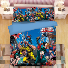 My Hero Academia All Might Bedding Set Duvet Covers Pillowcases Anime One For Comforter Sets Bed Linen Bedclothes