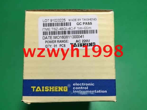 Genuine TAISHENG oven time relay TSZ-48GI-4C-F with a buzzer time relay genuine taiwan research anv time relay ah2 yb ac220v