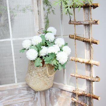30pcs High Quality Artificial Flowers Vivid Silk Simulation Dandelion Flowers For Wedding Home Festival Decor Fake Flowers